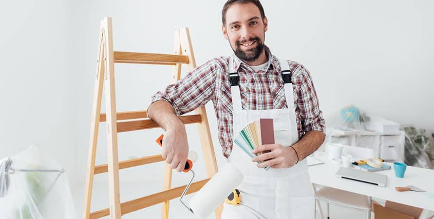 Vad gör en målare?
